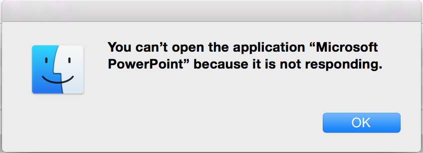 how to fix an application that is not responding mac