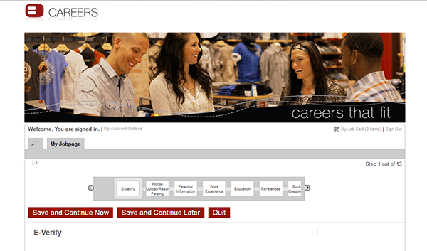 nike factory job application online