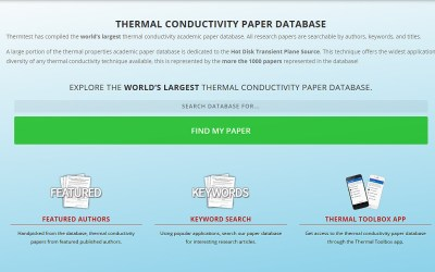 thermal conductivity theory properties and applications
