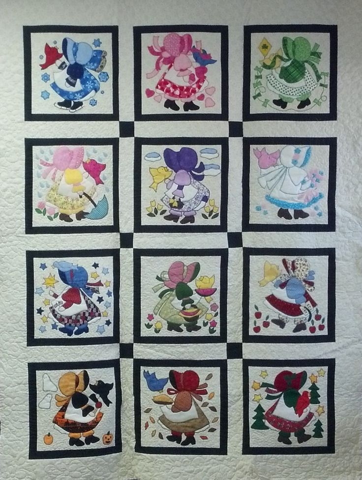 applique block of the month free patterns