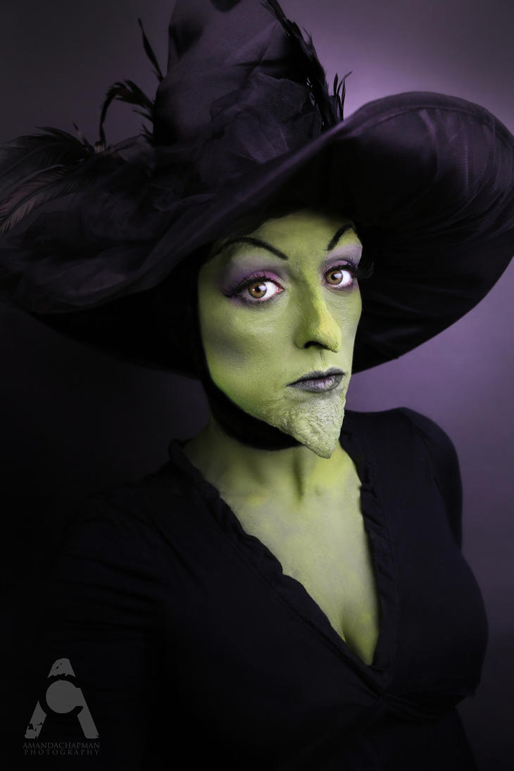 wicked witch of the west makeup application