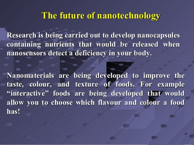 application of nanotechnology in agriculture pdf