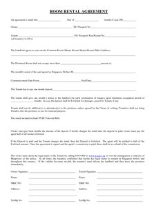 rental application for college students