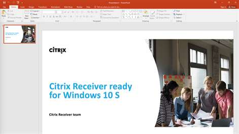 install citrix receiver to access your applications