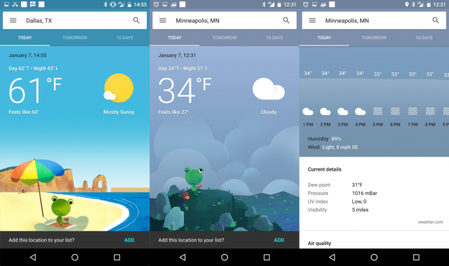 best weather application android app