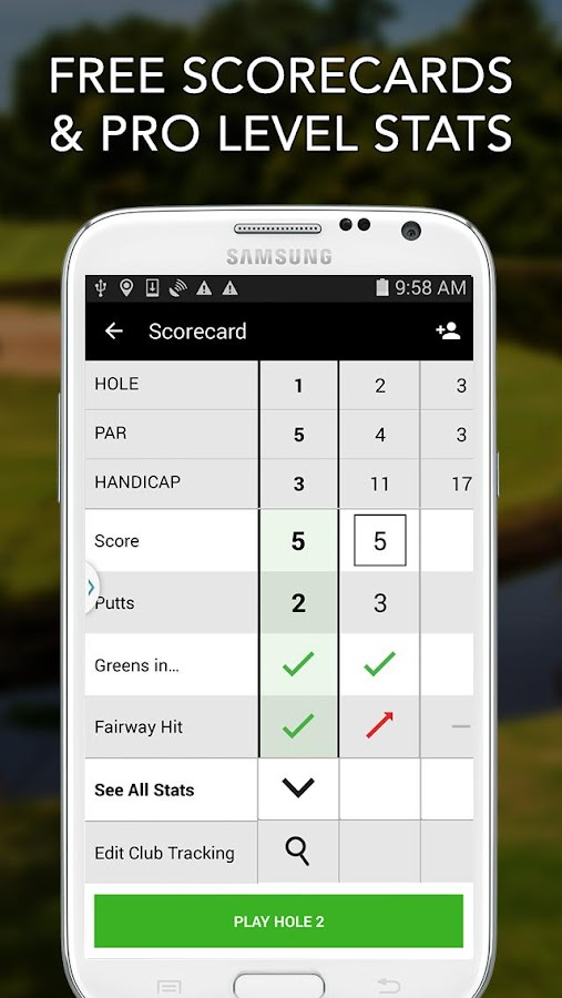 application gps golf android gratuite