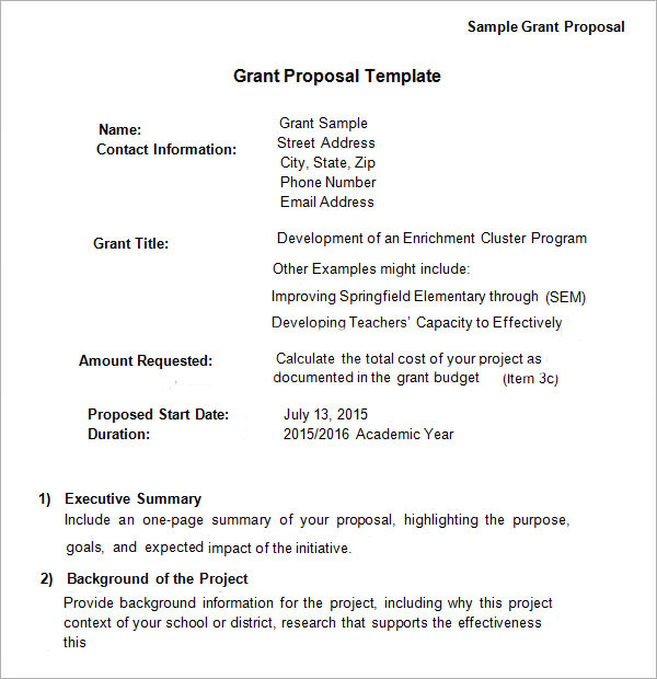 business plan for funding application