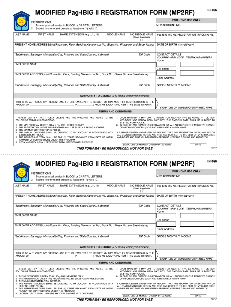 pag ibig online application form