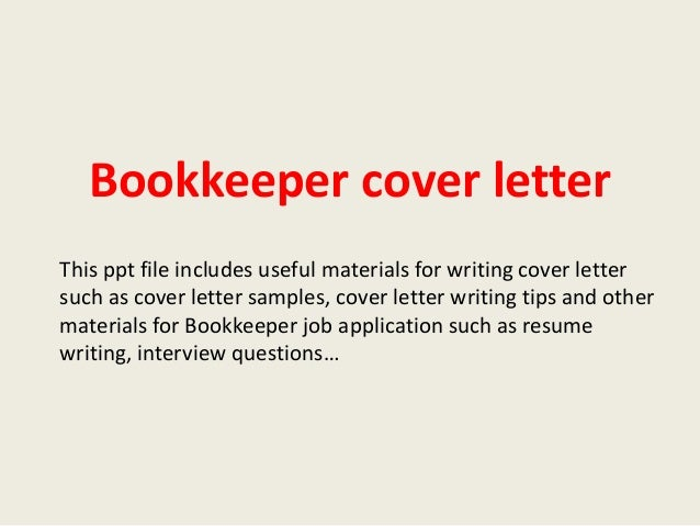 sample application letter for bookkeeper position with no experience
